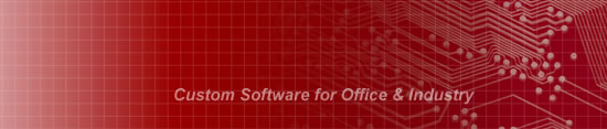 Custom Software for Office and Industry